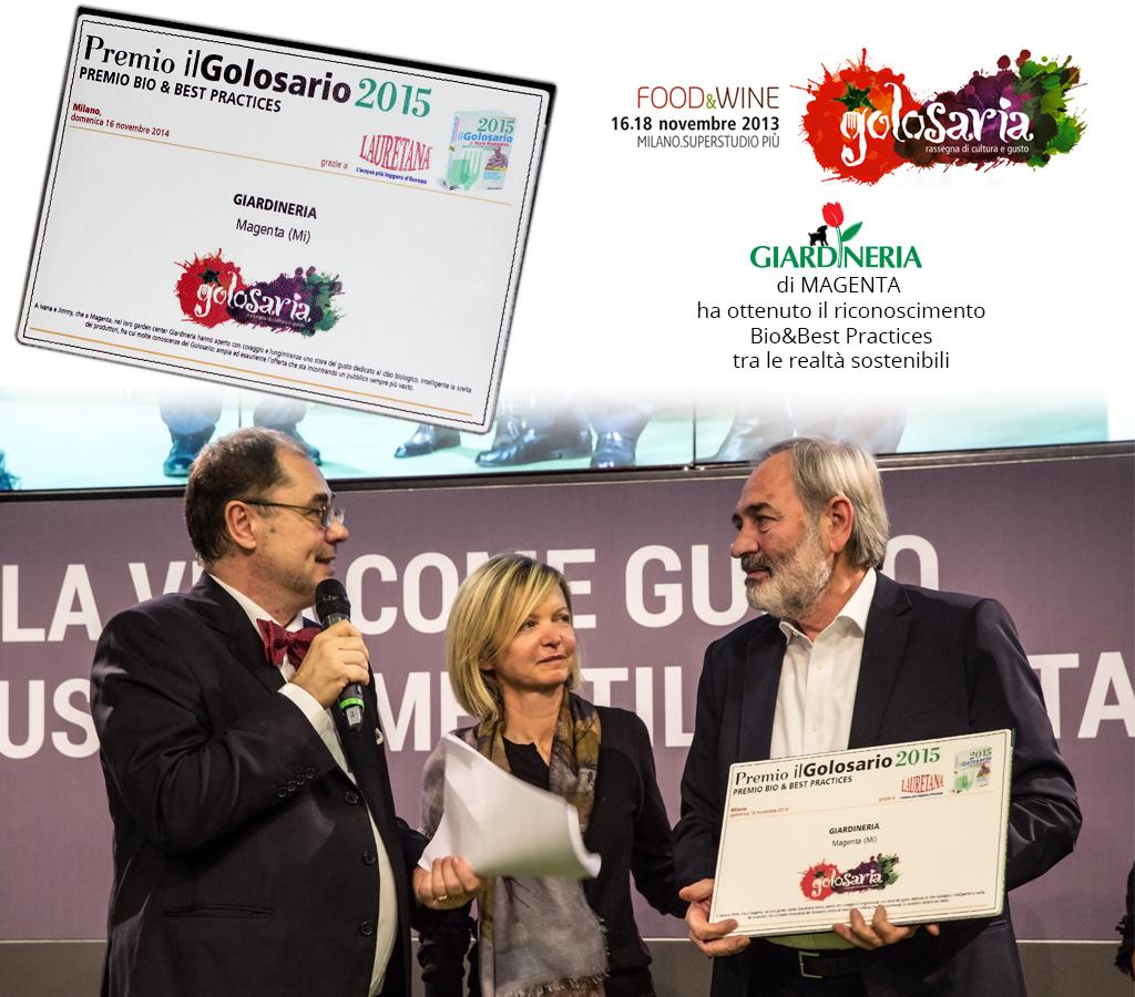Premio Golosario 2015