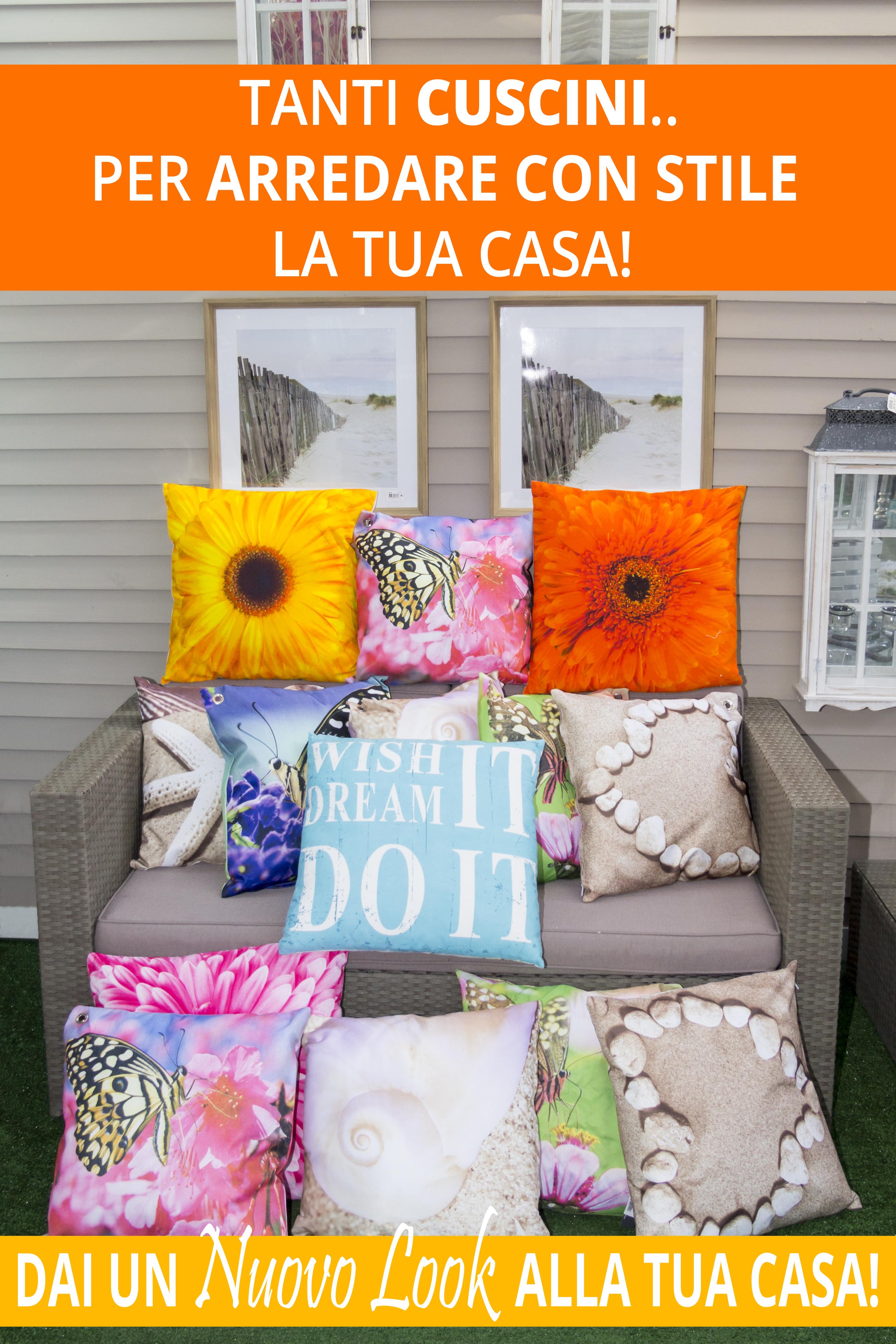 Cuscini per arredo giardino cuscini da esterno esterni for Costruisci la tua casa online