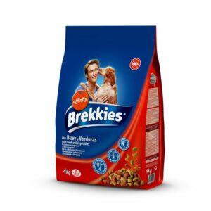 Brekkies Manzo e verdure è un prodotto completo ed equilibrato per cani adulti