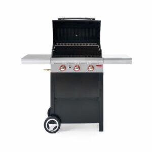 Barbecue a gas solido