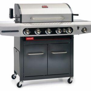 """Barbecue a Gas di facile utilizzo. Grazie alle pratiche vaschette raccogligrasso e alla sua finitura """"antimacchia"""""""
