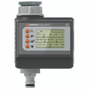 Opzioni di programmazione base. Di facile utilizzo grazie ai pulsanti e al display LCD.