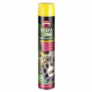 Insetticida spray schiumogeno per trattare i nidi di vespe. Profumato all'eucaliptolo.