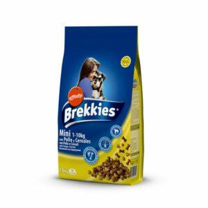 Brekkies Mini è un prodotto completo ed equilibrato per cani adulti di taglia piccola (da 1 a 10 kg)