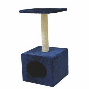 Il tiragraffi e` lo strumento ideale per consentire al gatto di affilarsi le unghie in un posto a lui dedicato