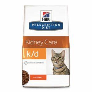 Hill's prescription diet feline k/d aiuta a prolungare la vita e migliora notevolmente la qualità di vita degli animali riducendo la progressione della patologia e la sintomatologia.