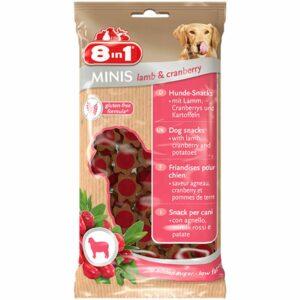 Gustosi snack per cani con agnello e mirtilli. Una ricetta deliziosa e senza glutine