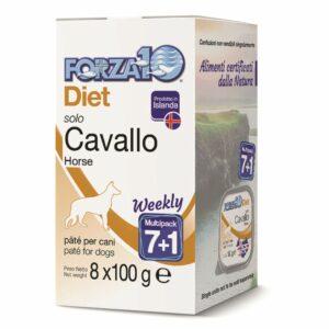 Forza 10 solo diet cavallo 7+1 800 g.
