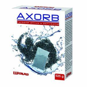 Carbone iperattivo per la purificazione dell'acqua.