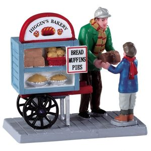 Delivery bread cart.