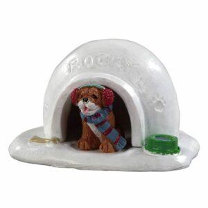 Igloo doghouse.