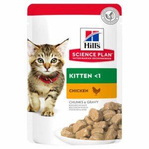 Hill's science plan kitten sviluppo sano al pollo è formulato per supportare la massa muscolare magra e la salute degli organi vitali