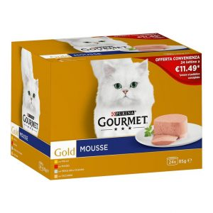 Gourmet gold multipack 24 mousse.
